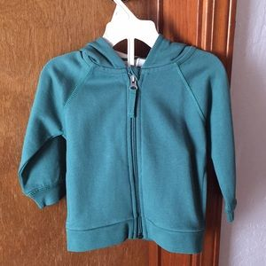 ✨NWT✨Hanna Anderson Zip up Hoodie 18-24 months